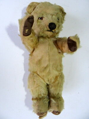 "Vintage Mohair Teddy Bear, Measures 14"" Approx. Jointed."