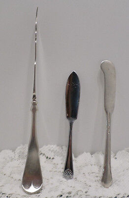 Vintage Silverplated Butter Knives