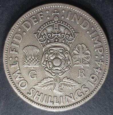 1937 - 1946 King George VI Silver Florin Coins - Choose Your Year!