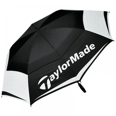 """TaylorMade Double Canopy 64"""" Golf Umbrella 2017"""