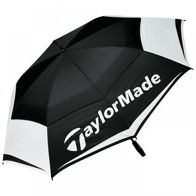 """TaylorMade Double Canopy 64"""" Golf Umbrella"""