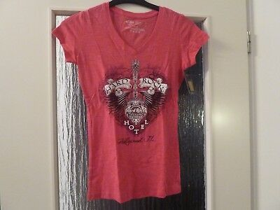 T Shirt Gr. S Damen Hard Rock Cafe / Hotel USA Florida