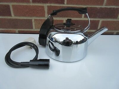 vintage electric copper kettle circa 1930s premier picclick uk. Black Bedroom Furniture Sets. Home Design Ideas