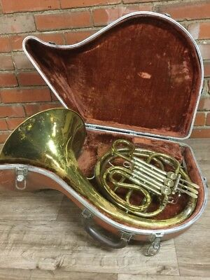 vintage - BUNDY H&A SELMER INC. 7480 French Horn  (Stock#10004)