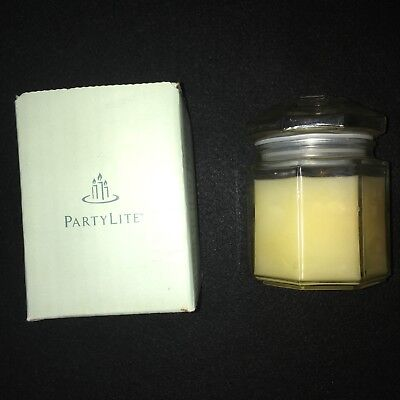 Partylite Candle 8 oz Holiday Spice Glass Jar Never Used!