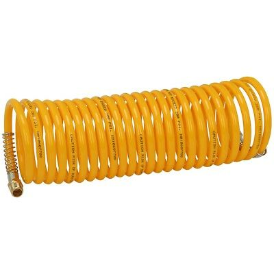 1/4 in. x 20 ft. Coiled Nylon Air Hose