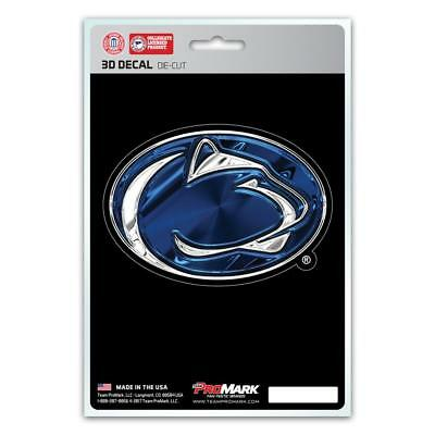 Penn State Nittany Lions Die Cut 3d Logo Decal New Car