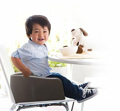 Prince Lionheart Soft Children's Booster Seat, Grey, Brand New - Free Shipping!