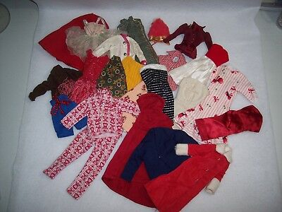 Vintage Barbie Size Handmade Clothing Lot ~ Some TLC ~ 23 Pieces