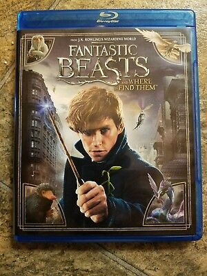 Fantastic beasts and where to find them, dvd only, NO BLU-RAY DISK OR DIGITAL CO