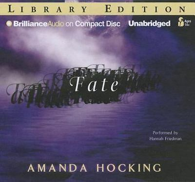 FATE  . . by Amanda Hocking (English) Compact Disc Book/ 8 compact disc/ 9 hours