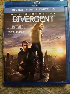 Divergent original dvd only, NO BLU-RAY DISK OR DIGITAL CODE