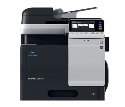 Konica Minolta Bizhub C3350 Color Copier/Print/Scan/  TOTAL Meter 49K!!