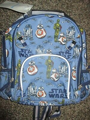 BOY POTTERY BARN KIDS BACKPACK STAR WARS SMALL No Name