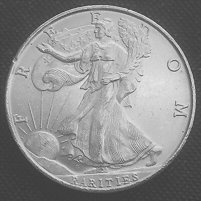 Rarities Mint Eagle Bell 1 oz .999 Silver Art Round W2