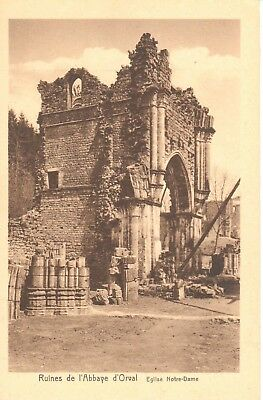 carte postale - Orval - Abbaye d'Orval - Eglise Notre Dame