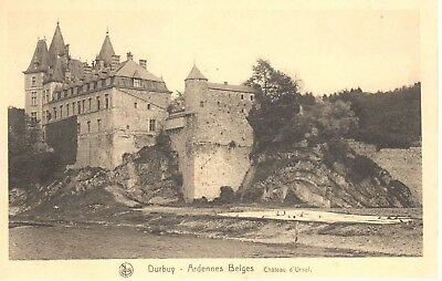carte postale - Durbuy - CPA - Ardenne Belge - Château d'Ursel