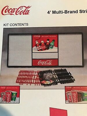 *New* 4' Coca-Cola Menu Board Sign - 6 sets of letters/numbers