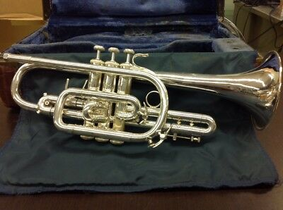 Bach 37 Cornet - Used, Silver-Plated, #79213