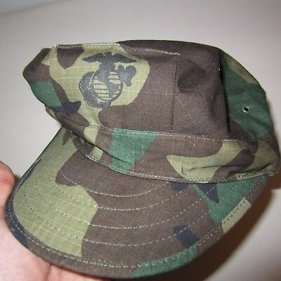 USMC Army Military Hat Cap Utility with Insignia Type I X-Large Propper BDUs