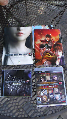Dead or Alive 5 Collectors Edition PS3 Upgraded with DoA 5:Ultimate PS3