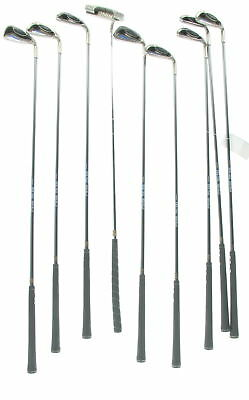 Lot Of 9 PING G2ez Steel Golf Clubs