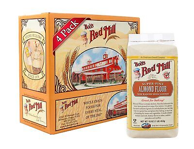 Bobs Red Mill Super-Fine Almond Flour, 16-ounce Pack of 4