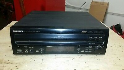 Pioneer CLD-D502 Dual Side LaserDisc Player CONDITION UNKNOWN.