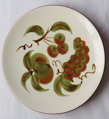 """Stangl Orchard Song Hand Painted 10"""" Dinner Plate - Did U Break One?"""