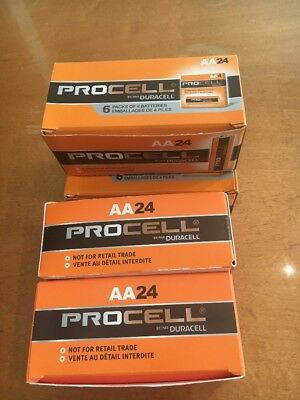 Duracell Procell PC1500 Battery AA Size 1.5V 24 Count. Fast Shipping From USA.