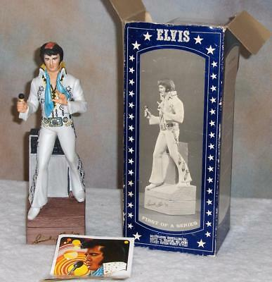 Elvis Presley Decanter Mccormick 1St Of A Series 1977