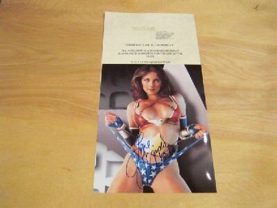 Lynda Carter - Young Wonder Woman - Hand Signed  Photo With Coa