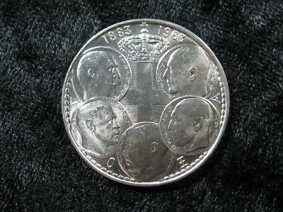 1 old world foreign SILVER coin GREECE 30 drachmai 1963 KM86 5 kings FREE S &H