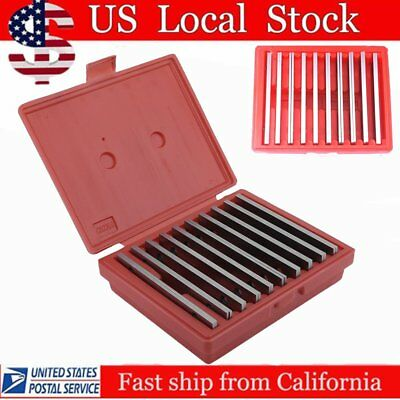 "20 pc THIN PARALLEL 1/8"" x 6"" JIG BLOCK BAR TOOL SET MACHINIST MACHINE SHOP MY"