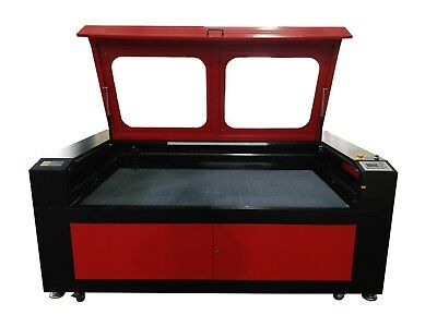 150W HQ1810 CO2 Laser Engraving Cutting Machine/Wood Engraver Cutter 1800*1000mm