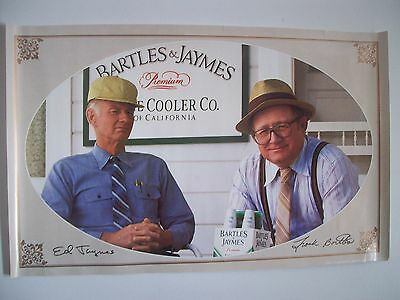 "Vintage Bartles and Jaymes Advertising Paper Poster 13 1/2"" X 21 1/2"""