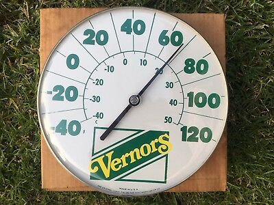 Vernors Thermometer Sign/W Original Box