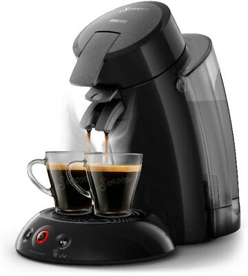Philips Senseo HD6555/27 Original XL Kaffeepadmaschine Crema Plus schwarz