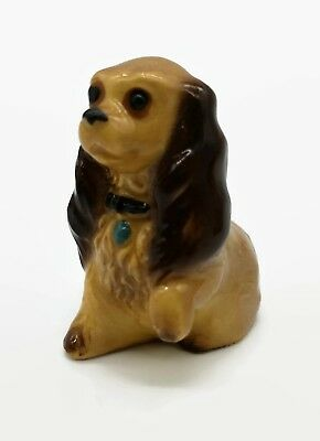 Vintage Hagen Renaker Mama Mom Cocker Spaniel Dog Miniature Animal Figurine