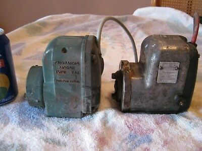 2 Vintage Tractor Magnetos. Fairbanks-Morse type F.M. & WICO mod X. Both spark.
