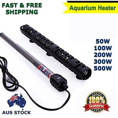 Aquarium Heater Fish Tank Water Thermostat 50w 100w 200w 300w 500w AU Stock II