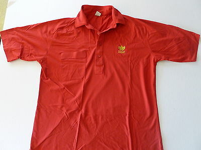 B & W (BROWN AND WILLIAMSON TOBACCO CO.) GOLF SHIRT size MEDIUM - worn once