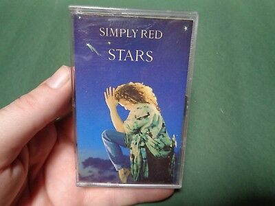 SIMPLY RED_Stars_used cassette_ships from AUS!_zz78_B4