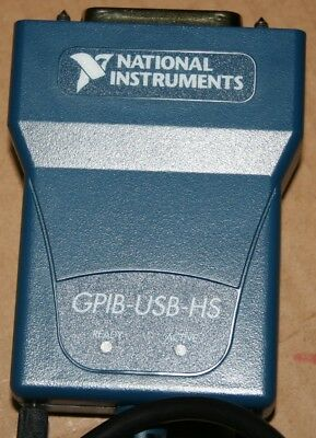 National Instrumens NI GPIB-USB-HS Interface Adapter controller IEEE 488