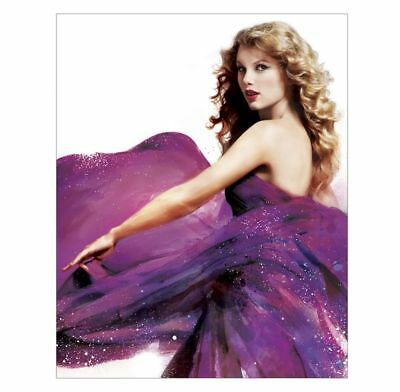 "Official Taylor Swift ""Speak Now"" Purple Dress 8x10 Inch Photo"