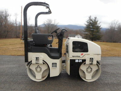 2006 Ingersoll Rand Dd-24  Double Drum Vibratory Articulating Roller Compactor