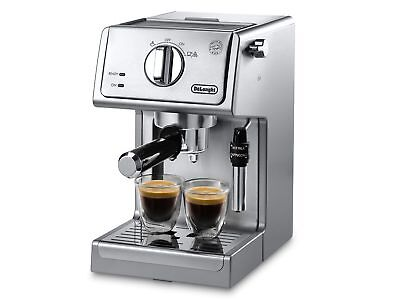 NEW DeLonghi ECP3630 15 Bar Espresso and Cappuccino Maker, Stainless Steel