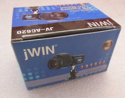 jWIN Digital Mini B&W Security Surveillance Camera with C-Mount JV-AC620 NEW