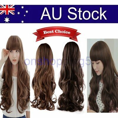 Lovely Cosplay Big Wig Long Wavy Curly Synthetic Hair Party Full Hair Wigs OZ