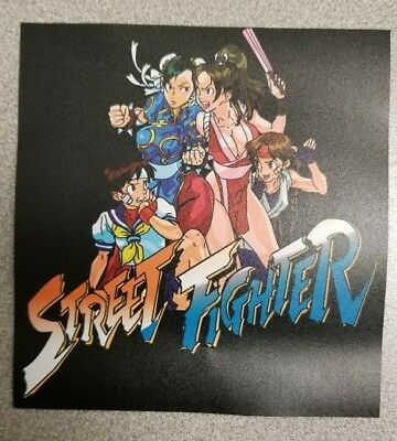 Street Fighter Women decal. 4.5 x 5 (Buy 3 stickers, GET ONE FREE!)